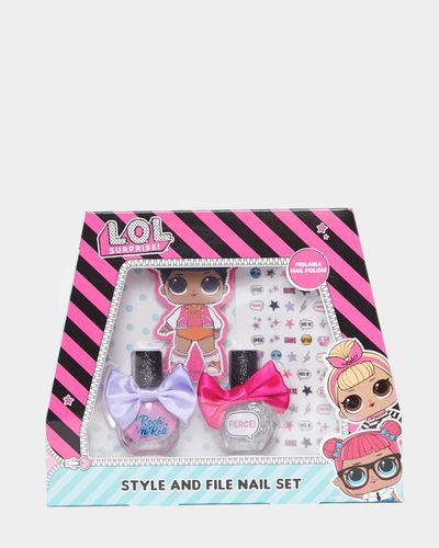 LOL Style And File Nail Set