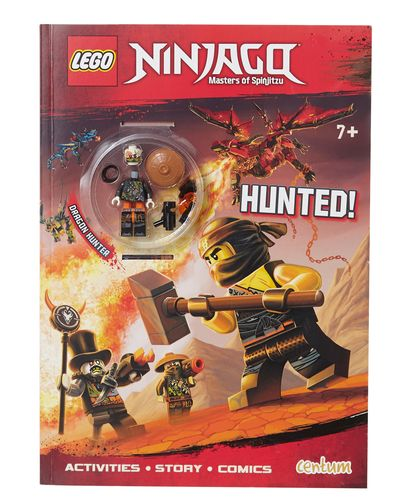 Lego Ninjago Activity Book