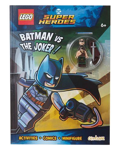 Lego Super Heroes Activity Book