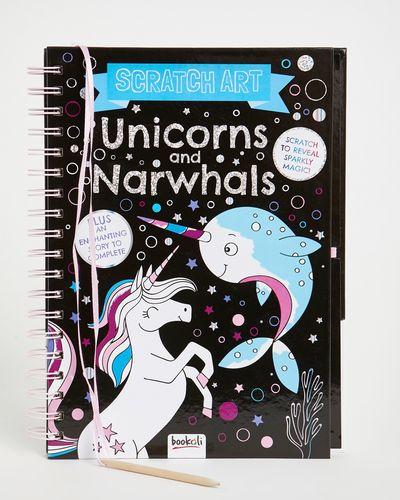 Unicorns And Narwhals Art Book
