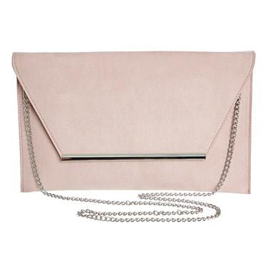 light-pinkEnvelope Bar Clutch