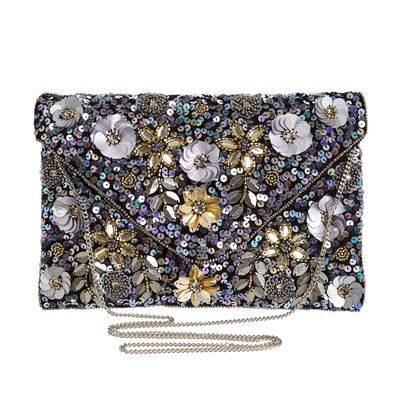 Sequin Envelope Clutch thumbnail