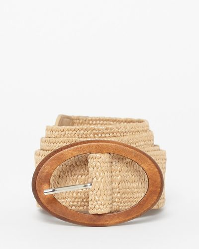 Woven Buckle Belt