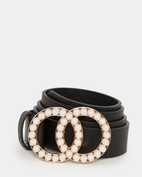 Pearl Double Ring Belt