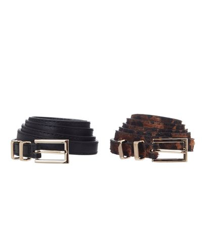 Skinny Belts - Pack Of 2 thumbnail