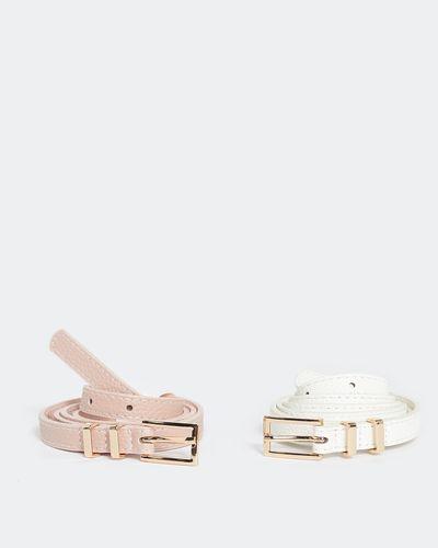 Skinny Belts - Pack Of 2 thumbnail