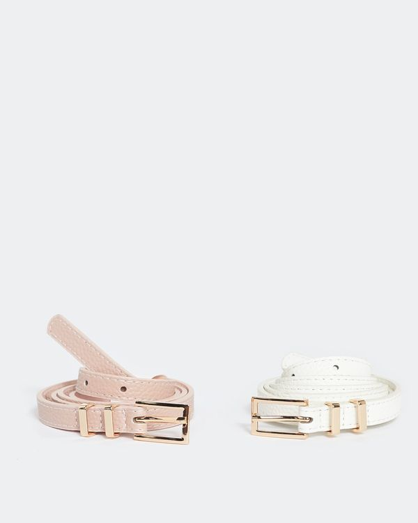 Skinny Belts - Pack Of 2