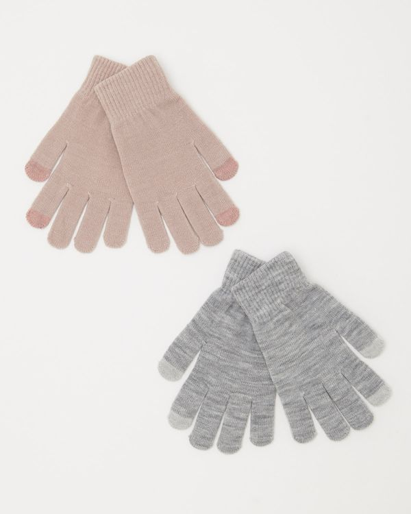 Touchscreen Gloves - Pack Of 2