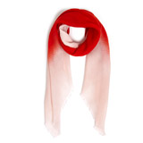red Square Ombre Scarf
