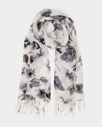 Soft Floral Scarf thumbnail