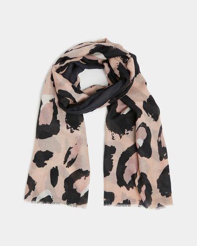 Blush Leopard Scarf