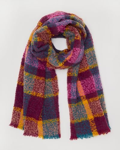 Port Check Boucle Scarf