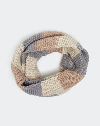Stripe Knit Snood