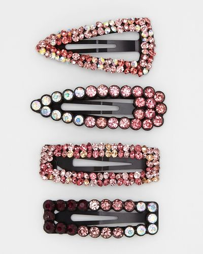 Ombre Gem Hair Clips - Pack Of 4 thumbnail