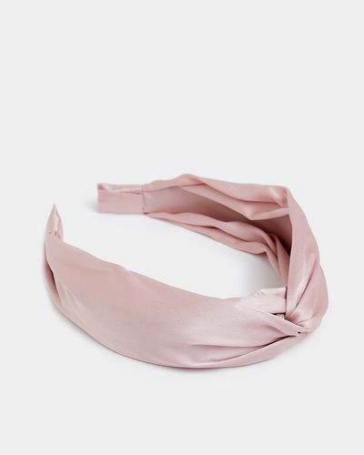Satin Structured Hairband