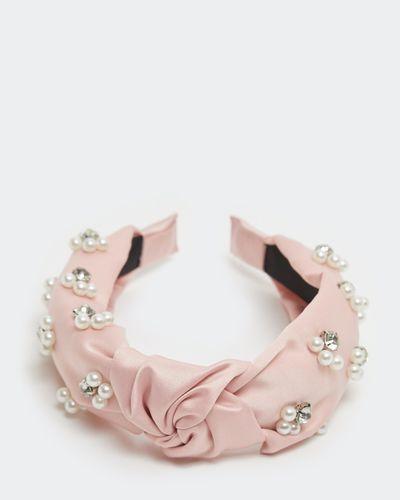 Pearl Embellished Hairband thumbnail