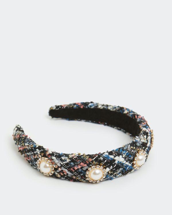 Boucle Pearl Hairband