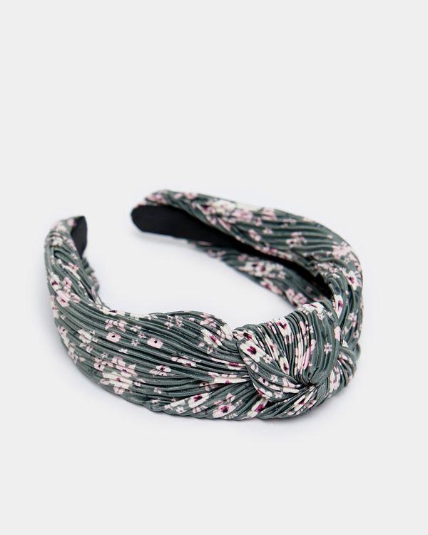 Print Knot Hairband
