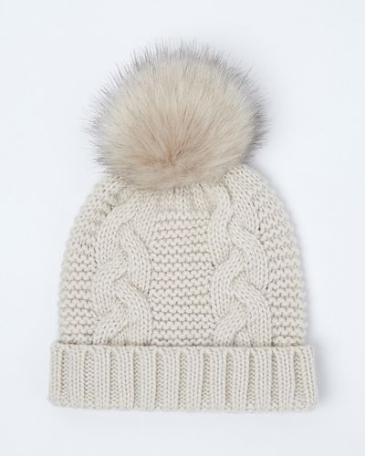Pom Knitted Hat