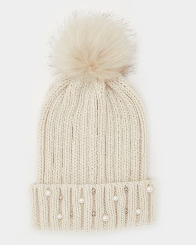 Pearl Bead Hat