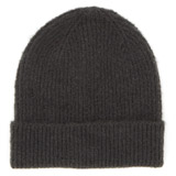 charcoal Ribbed Hat