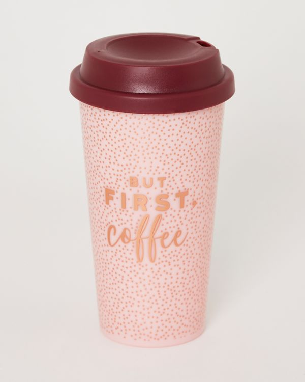 Dark Bloom Travel Cup