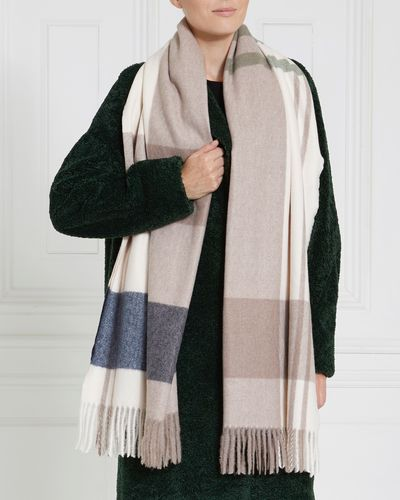 Gallery Charm Check Scarf