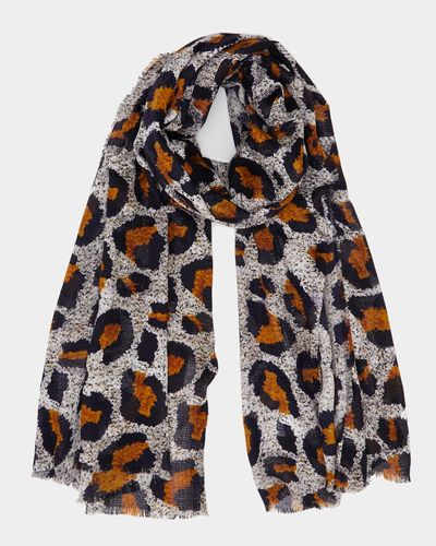 Gallery Tangier Leopard Scarf