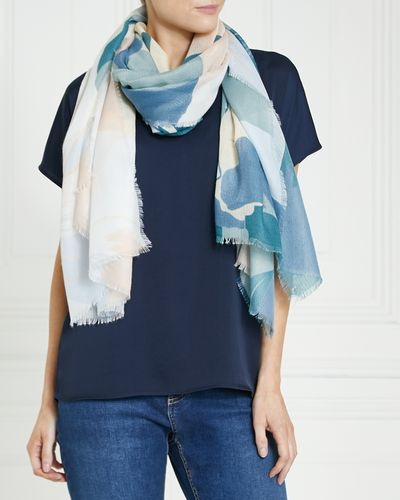 Gallery Tonal Floral Scarf