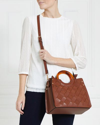 Galllery Jess Tort Handle Bag