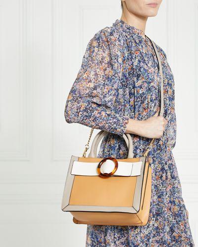 Gallery Colourblock Top Handle Bag