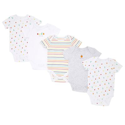 Fruits Bodysuit - Pack Of 5