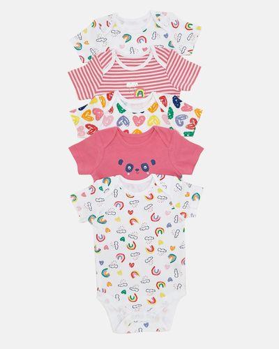 Panda Bodysuits - Pack Of 5