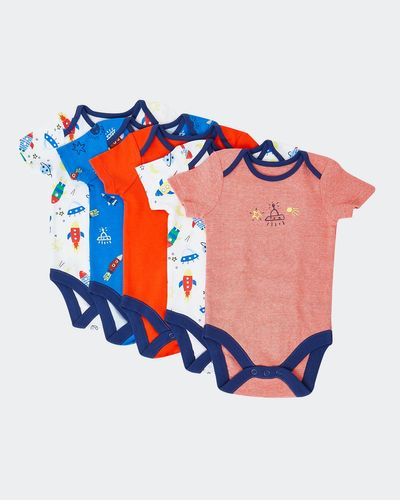 Space Bodysuits - Pack Of 5 (Newborn-23 months) thumbnail