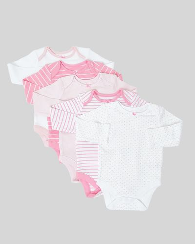 Long Sleeve Bodysuits - Pack Of 5 (0 months-3 years)