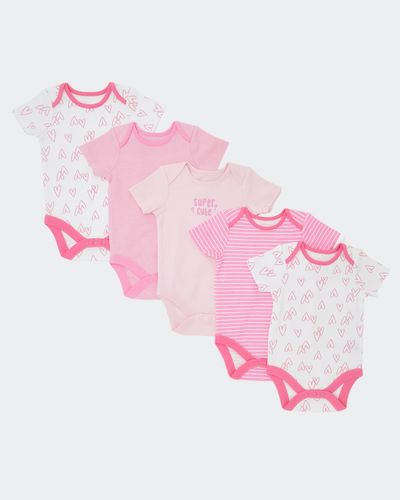 Heart Bodysuit - Pack Of 5 (0 months-3 years) thumbnail