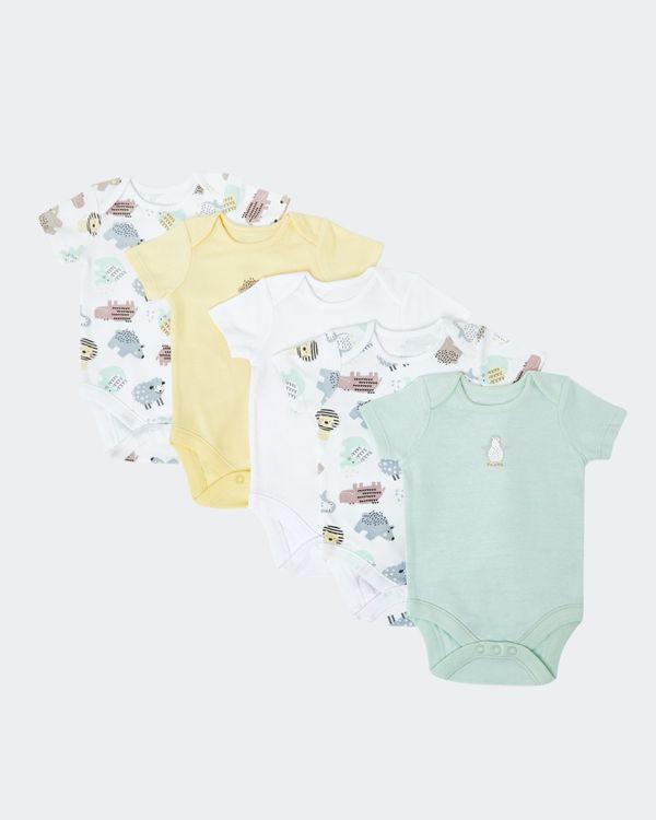 Unisex Bodysuits - Pack Of 5 (Newborn-9 months)