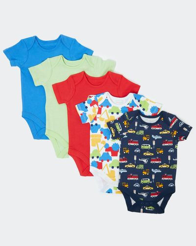 Car Bodysuit - Pack of 5 (Newborn - 3 years) thumbnail