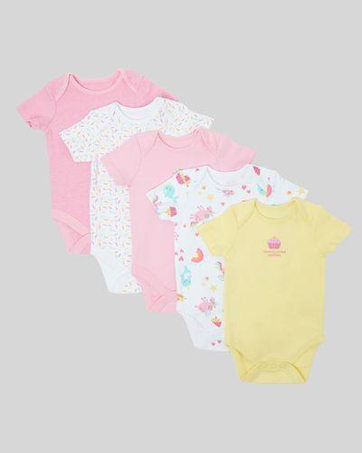Unicorn Bodysuit - Pack of 5 (Newborn - 3 years)