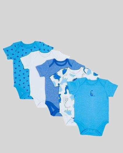 Dino Bodysuits - Pack Of 5 (Newborn-3 years)