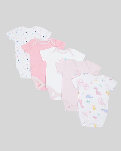 Dino Bodysuit - Pack Of 5 (Newborn - 3 years)