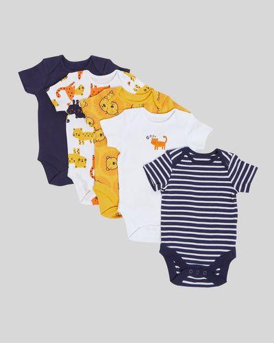 Lion Bodysuit - Pack Of 5 (Newborn - 3 years)