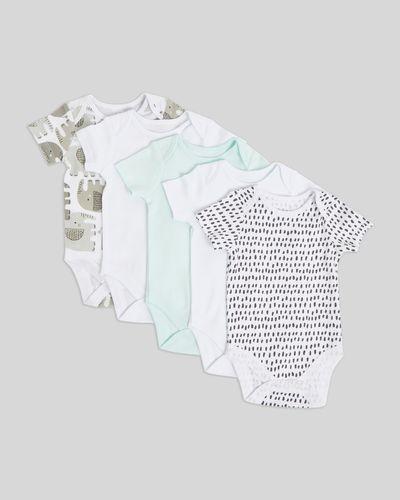 Elephant Bodysuit - Pack Of 5 (Newborn - 9 months)