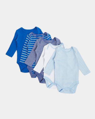 Long Sleeve Bodysuit - Pack Of 5 (Newborn - 3 Years)