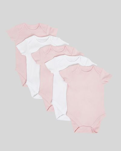 Pink Bodysuit - Pack Of 5 (Newborn - 9 months)