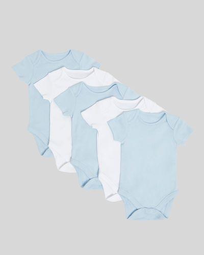 Blue Bodysuit - Pack of 5 (Newborn - 9 months)
