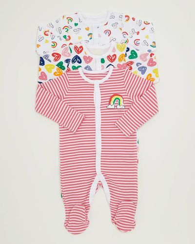 Rainbow Sleepsuits - Pack Of 3 thumbnail