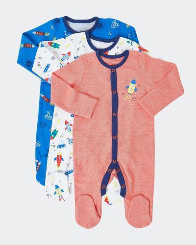 Space Sleepsuit - Pack Of 3 (Newborn - 23 months)
