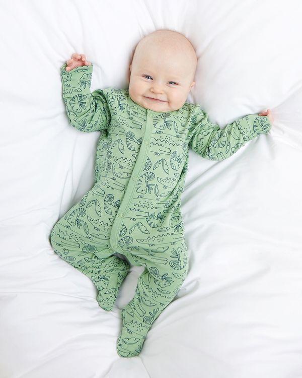 Safari Sleepsuit - Pack Of 3 (Newborn-23 months)