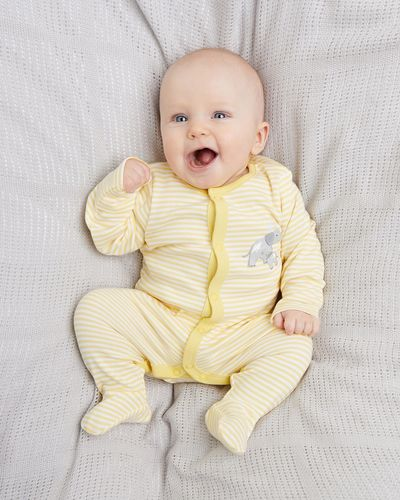 Unisex Sleepsuits - Pack Of 3 (Newborn-6 months)